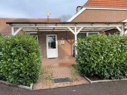 Dreizimmerwohnung, überdachte Terrasse, Garten