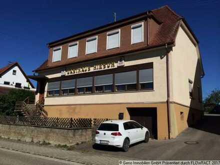 !!! Gaststätte mit Parkplätzen, viel Platz und Wohnung in Empfingen-Wiesenstetten(Autobahnnähe)!!!