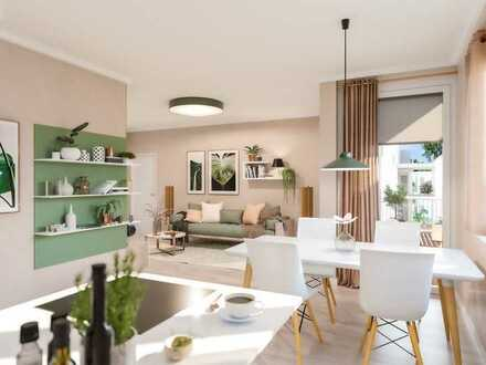 Zuhause in Biesdorf: 2-Zimmer-Wohnung mit 2-Dachterrassen