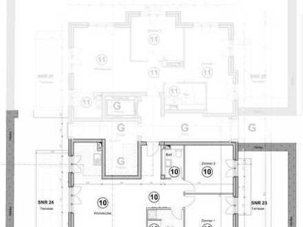 Gartenwohnung - mit zwei Terrassen und fast 70 Quadratmeter Außenfläche