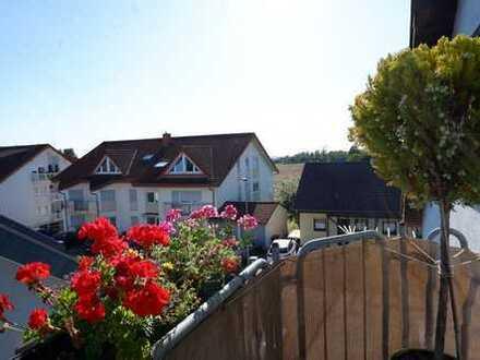 Wiesloch-Baiertal: 2-Zimmer-Dachgeschosswohnung mit tollem Schnitt und Balkon! (# 5168)