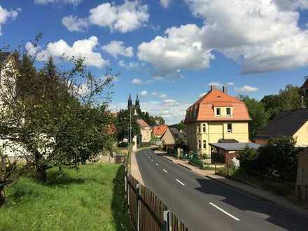 Meißen links der Elbe: Sonnige Baulücke mit Domblick