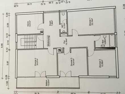 16,40 m², 1 Zimmer in 4 er WG 285,00€ mit Balkon