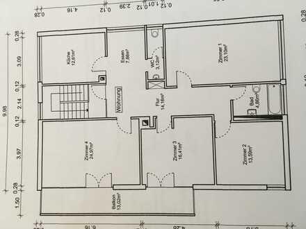 13,60 m², 1 Zimmer in 4 er WG 275,00€