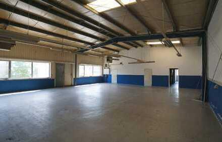 Produktions-/Lagerhalle mit Büro in Werther zu vermieten