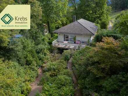 Haus in Naturparadies (1500qm) in exklusiver Lage
