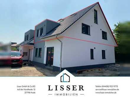 Schöne Maisonette-Wohnung mit Balkon, Carport, Fußbodenheizung und hochwertiger Einbauküche