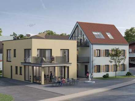 Neubau 4-Zimmerwohnung wohnen am alten Brunnen- Lendsiedel Kirchberg/ Jagst
