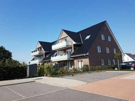 Neuwertige Wohnung mit drei Zimmern sowie Balkon und EBK in Hetlingen