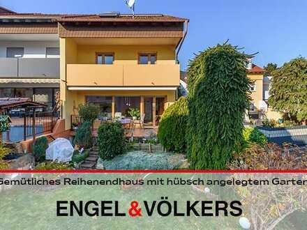 Gemütliches Reihenendhaus mit hübsch angelegtem Garten in Gimmeldingen-Königsbach!