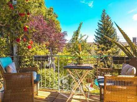 Schöne 3 Zimmer Wohnung mit traumhaftem Garten