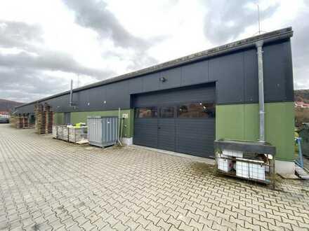 Neuwertige Industrie-/Produktionshalle mit Erweiterungspotenzial in Streitberg zu verkaufen