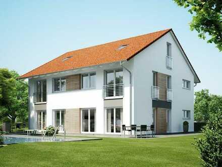 Doppelhaushälfte in Mechenhard... sehr schöne Lage.. individuell geplant
