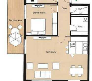 Stilvolle, neuwertige 3-Zimmer-Wohnung mit Balkon und Einbauküche in Schondorf am Ammersee