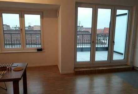 Almost new double terrace penthouse in Friedrichshain