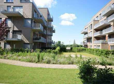 Wohnen in der Überseestadt !Traumhafte Erdgeschoss - Wohnung mit großer Terrasse in Südlage