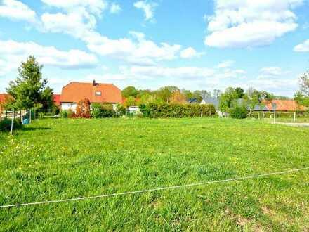 erschlossenes Baugrundstück - in sehr ruhiger Wohnlage - ca. 8 km östlich von Bautzen