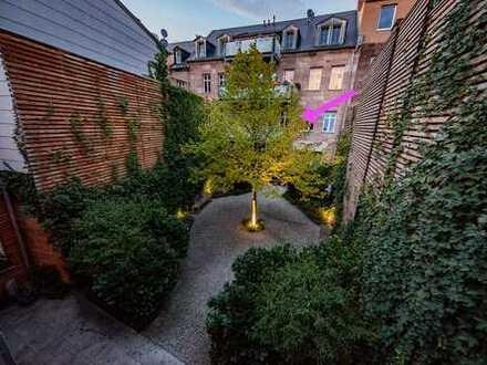 Stilvolle 5-Zimmer-Wohnung mit Balkon und EBK in Fürth