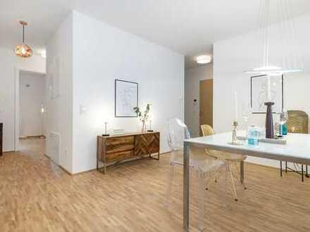 Von Privat - Hochwertige 4-Zimmer-Wohnung mit Balkon im Zollhafen - Erstbezug mit Einbauküche
