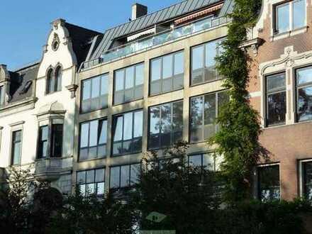 Zwei-Zimmer Wohnung mit Balkon und Küche im Ostertor