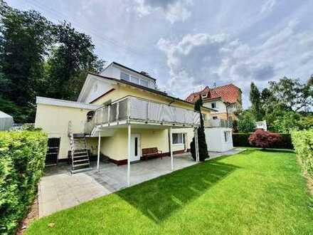 Großes Einfamilienhaus mit freier Aussicht über die Stadt Baden-Baden!