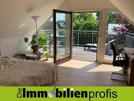 Elegante 2-Zimmer-Wohnung mit tollem Balkon in Moschendorf - Teilmöblierung möglich