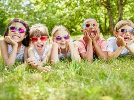 Familienidylle im eigenen Sonnengarten