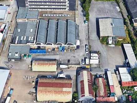 12 TSD qm Gewerbepark: 1500 qm Büros, 3500 qm Hallen, 7 TSD Freifläche