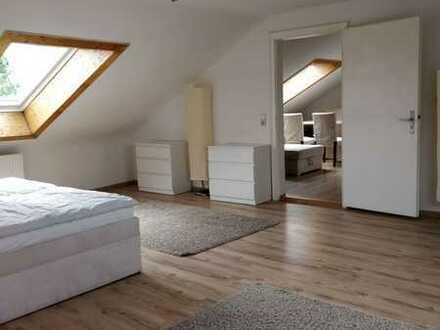 Zentrumsnahe möblierte 2 Zimmer -DG-Wohnung