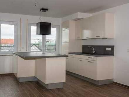Neuwertige 2-Zimmer-Wohnung mit Balkon und eingebauter Küche in Laim, München