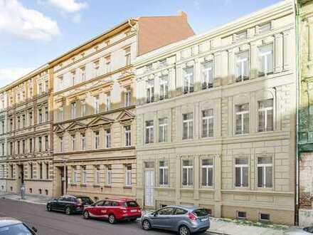 -Erstbezug-Leben und Wohnen im Paulusviertel, moderene 4-Raumwohnung mit großzügigem Balkon