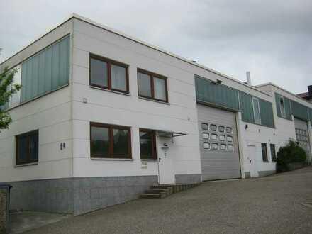 390 m² Halle und 50 m² Büro für Lager Handwerk oder leichte Produktion