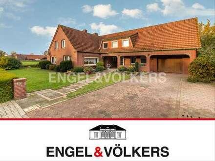 Wittmund-Abens: Einfamilienhaus mit ELW!