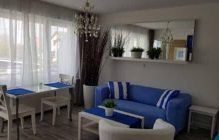 S-Stammheim - Sonniges 1-Zimmer-Appartement mit Balkon - möbliert
