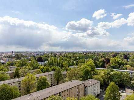 Balkonwohnung mit Traumblick in der Parkstadt Bogenhausen