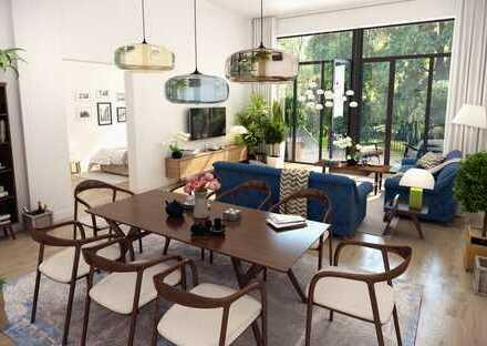 Schöne Wohnung mit Garten im Grünen, Fußbodenheizung, Stellplatz ERSTBEZUG