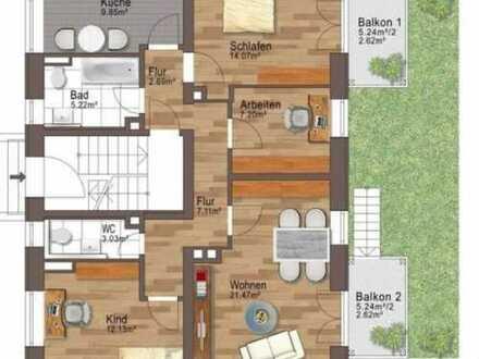 4 Zimmer, Küche Bad und WC !! Großzügige Gartenwohnung in Lechhausen