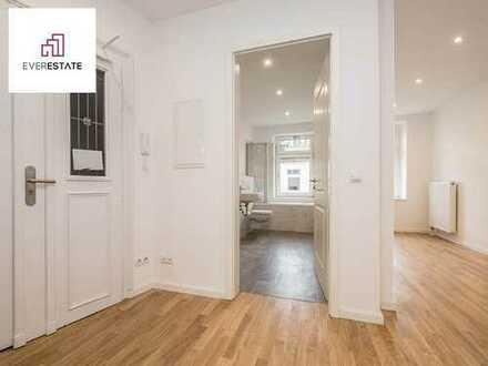Provisionsfrei und frisch renoviert: 2-Zimmer-Wohnung mit Balkon zum Innenhof