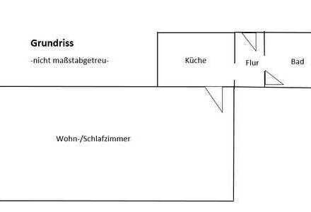 Freundliche 1-Zimmer-Wohnung mit EBK in Aichtal