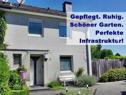 SEHR RUHIG, EBENER GARTEN, perfekte Infrastruktur!