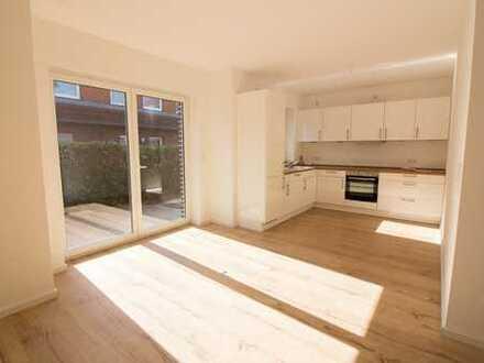 Wohnen Sie traumhaft schön, altengerecht und barrierefrei - 3 ZKB EG-Wohnung mit Sonnenterrasse