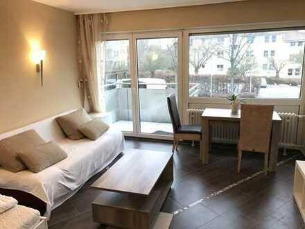 Eschborn-Niederhöchstadt: Voll möblierte, moderne, neu sanierte 1 ZKB Wohnung. *PROVISIONSFREI*