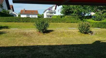 Exklusive 3-Zimmer-Erdgeschosswohnung mit Terasse und Einbauküche in Ettlingen-Spessart (von Privat)