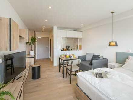 Vollmöbliertes, Exklusives 1 Zimmer Apartment in bester Lage Darmstadts
