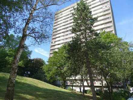 Schöne und attraktive 2- Zimmer-Wohnung mit großem Balkon und Blick ins Grüne!