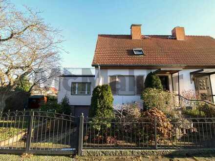 Sauna, Garten, 2 Terrassen, Garage und vieles Mehr: Bezugsfreie DHH in Wittenau