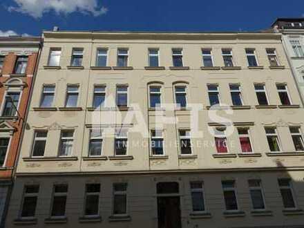 Schleußig: ab 01.09.2019 - 3-Zimmer-Wohnung mit Balkon, Tageslichtbad mit Wanne