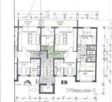 Großzügige Wohnung für 4er WG in Passau-Innstadt