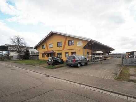 Werkstatthalle, Büro und Montagehalle unter einem Dach