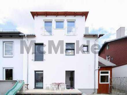 Modern, stilvoll, familienfreundlich: 6-Zi.-DHH mit Terrasse und Garten in Wilstorf